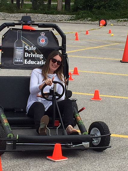 Safe Driving Education with Police