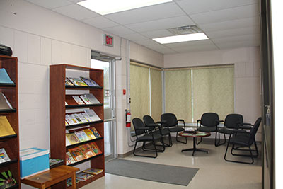 Hanover office waiting room
