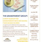 Virtual – The Grandparent Group: A drop in group for grandparents who are raising their grandchildren