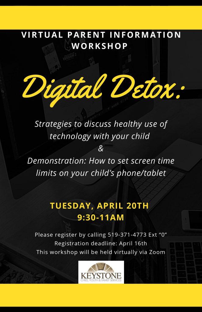 Digital Detox Parent Workshop