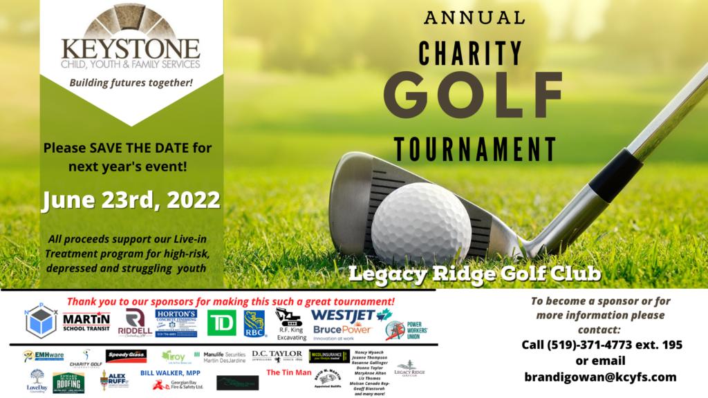 Golf Tournament Sponsor