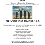 parenting anxiety September